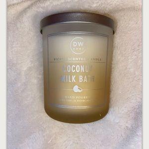 New DW Home Coconut Milk Bath 2-wick Candle 15oz